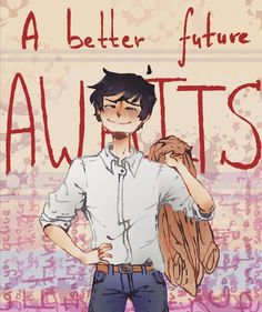 A better future awaits! Actually Stephen. Youtubers, No Drama, Still In Love, Story Prompts, Just Friends, Super Powers, Anime Couples, Make You Smile, Character Art