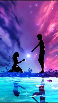 48211405 Pin on Anime wallpaper iphone Cute Galaxy Wallpaper, Love Wallpaper Backgrounds, Night Sky Wallpaper, Cute Couple Wallpaper, Anime Scenery Wallpaper, Mobile Wallpaper, Love Wallpaper Download, Colorful Wallpaper, Wallpaper Downloads