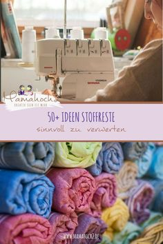 Ideen, wie du Stoffreste sinnvoll verwerten kannst autour du tissu déco enfant paques bébé déco mariage diy et crochet Sewing Hacks, Sewing Tutorials, Sewing Crafts, Sewing Tips, Diy Couture, Leftover Fabric, Cool Things To Make, Things To Sell, Upcycled Crafts