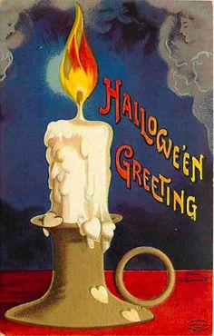 Halloween Postcard International Art Ellen Clapsaddle