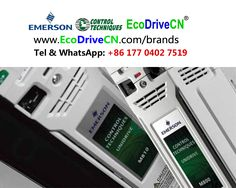 Emerson Control Techniques AC variable frequency drives, VFDs, variador de frecuencia, frekvenčni pretvornik, Частотно-регульований привод, inversores de frequencia, частотно-управляемый привод, ЧУП www.EcoDriveCN.com/brands