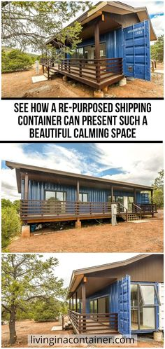 Cargo Container Homes, Shipping Container House Plans, Container Buildings, Shipping Containers, Craftsman House Plans, Modern House Plans, Small House Plans, Tiny House Loft, Tiny House Design