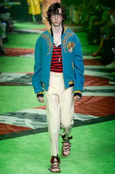 Gucci Spring 2017 Menswear Fashion Show