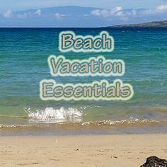 What essentials do you bring on your trip to the beach? Click to leave a comment.