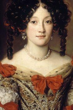 Attributed to Jacob Ferdinand Voet (1639-1700), Portrait of woman (detail). © Petit Palais