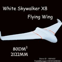 Find More RC Airplanes Information about Skywalker X8 white Version Skywalker FPV Flying Wing 2122mm RC Plane Empty frame 2 Meters x 8 EPO RC Toy,High Quality rc toy excavators,China rc toy monster truck Suppliers, Cheap rc car toy from LOL Toy Space on Aliexpress.com