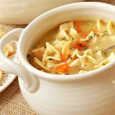 Chunky Chicken Noodle Soup   (Pressure Cooker)