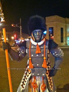 Ambitious Homemade Winkie Costume – The Witch's Guard from Wizard of Oz… Coolest Halloween Costume Contest Halloween Costume Contest, Cool Halloween Costumes, Halloween Themes, Halloween Party, Halloween Stuff, Costume Ideas, Men's Costumes, Creative Costumes, Halloween 2014