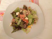 Massa com cenas: As saladas