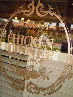 Miquelli's Amerikablog: Mrs. Knott's Chicken Dinner Restaurant - Buena Park, Californië