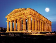Greek Ruins at Paestum, Italy