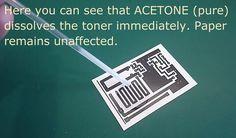 Heatless (cold) Toner Transfer for PCB making