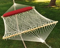 Save $ 6.19 order now Algoma 2 – Person Cotton Rope Hammock with Pillow at