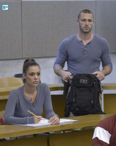 "#Quantico 1x02 ""America"" - Nathalie and Ryan"