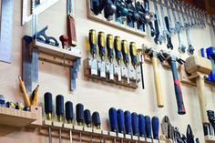 Picture of Custom Tool Wall