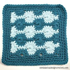atherine Wheel Stitch Afghan Square