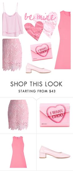 """""""i want choo"""" by janesmiley ❤ liked on Polyvore featuring Chicwish, Jimmy Choo, Elizabeth and James, Maryam Nassir Zadeh and MANGO"""