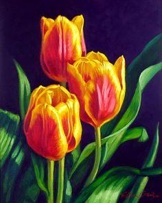 Любой цветок - природы совершенство. Художница Fiona Craig.. Обсуждение на LiveInternet - Российский Сервис Онлайн-Дневников
