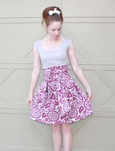 Plum Retro Dress, Womens Summer Sundress XS S M L XL XXL