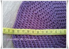 How to make a crocheted woolen beret: Camil's tutorials … – Baby Utensils Ideas Camilla, Knit Crochet, Crochet Hats, Beret, Arts And Crafts, Knitting, How To Make, Baby Bags, Hobby