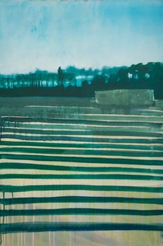 "Burnt Fen by Paul Smith ""The flat, bleak, unwelcoming landscape of the fens. The rhythm of farming stripes the rich soil. The hide watches over."""