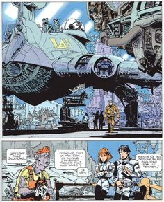 Valerian, highly influential and a perfect compliment to Metal Hurlant (Heavy Metal)