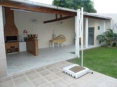 area de serviço com quarto e banheiro - Pesquisa Google Porches, Barbacoa, Pergola, Bbq, Sweet Home, Exterior, Outdoor Structures, Outdoor Decor, House