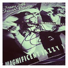 """The Magnificent Jazzy Jeff Signed 12""""  #jazzyjeff #djjazzyjeffandthefreshprince  #djjazzyjeff #freshprince #willsmith #jefftownes #signed #12inch #45rpm #7inch #philly #vinyl #vinylcollection #vinylcollector #vinyligclub #vinylig #nowplaying #nowplaying #recordcollection #records #hiphop#dj #turntablism #transform #scratch #oldschool #pioneer by paulsid_ http://ift.tt/1HNGVsC"""