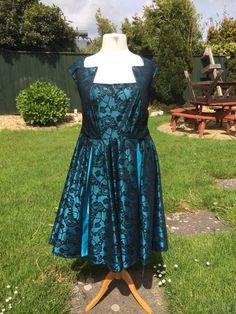 Bespoke party dress, formal wear