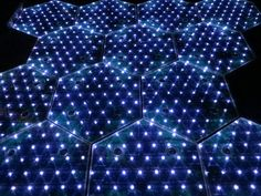 smart streets and solar roadways produces energy for the power-grid