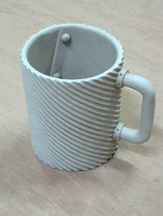 Textured Slab Mug | ClayBlog  Mark palandri