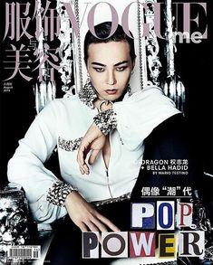 G-Dragon with Bella Hadid - Vogue China Magazine August Issue Vogue China, Choi Seung Hyun, Daesung, Bella Hadid, Moda G Dragon, G Dragon Instagram, G Dragon Fashion, Bigbang G Dragon, The Fashionisto