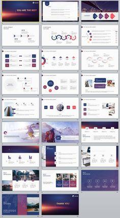 Best Business Annual Design PowerPoint Template Source by janchaiyawan Presentation Slides Design, Presentation Layout, Slide Design, Powerpoint Examples, Powerpoint Design Templates, Keynote Design, Brochure Design, Magazine Ideas, Web Design