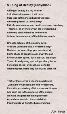 One Of My Favorite Poems Long Before The Blind Side Charge Of The  John Keats To Autumn Essays John Keats To Autumn Essaysjohn Keats Once  Said About Lord Byron He Describes What He Sees  I Describe What I  Imagine
