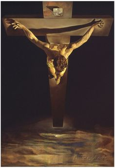 Dali Christ of St John of the Cross Art Print Poster Poster at AllPosters.com