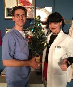 Jimmy & Abby,  preparing for Christmas