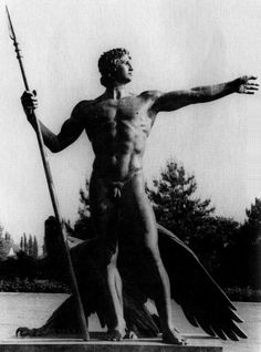 "Arno Breker (1900-1991)  Alexander The Great ""Alexander der Große"" - 1982"