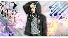 color Peace-g-dragon by emelinu on DeviantArt Ji Yong, G Dragon, Adidas Jacket, Fan Art, Peace, Deviantart, Wallpaper, Color, Fashion
