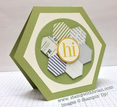 Crazy for Hexagons with the Paper Players | STAMP WITH BRIAN