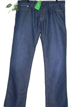 Hugo Boss Blue Denim Men Cotton Stylish Jeans Size 38 / 34 NEW!  #HugoBoss #ClassicStraightLeg