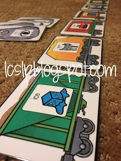 Final Consonant Deletion- free printables - too cute