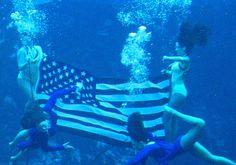 The Mermaid Show at Weeki Wachee! Spring Hill, Florida