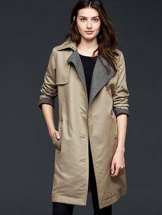 Modern trench coat