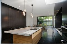 Fitzroy Residence @Victoria Brown Brown, Australia - 2013 by  Carr Architecture _  blackboard!!