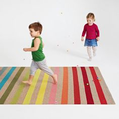 Imagination is all you need! Our Junior Collection Butterfly rug | See more Junior Collection at www.armadillo-co.com