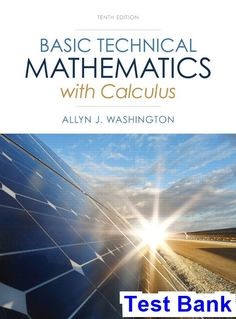 Solution manual for international economics 12th edition by basic technical mathematics with calculus 10th edition washington test bank test bank solutions manual fandeluxe Gallery
