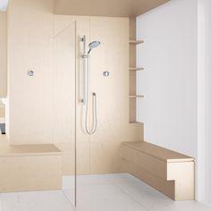 Nauwkeurige besturing, de perfecte temperatuur en de luxe om je voorkeursinstellingen op te slaan met één druk op de knop; GROHE F-digital verandert je hele beeld van kranen en douches.