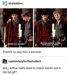 Merlin Show, Merlin Fandom, Merlin Merlin, Merlin Memes, Merlin Funny, Movies Showing, Movies And Tv Shows, Beard Quotes, Fandom Jokes