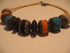 polymer clay Boho Inspiration, Native Style, Jewerly, Polymer Clay, Bracelets, Fashion, Moda, Jewlery, Fashion Styles