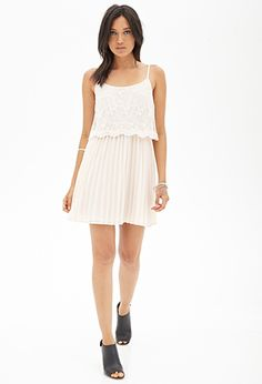 Embroidered Chiffon Dress   FOREVER21 - 2000121483